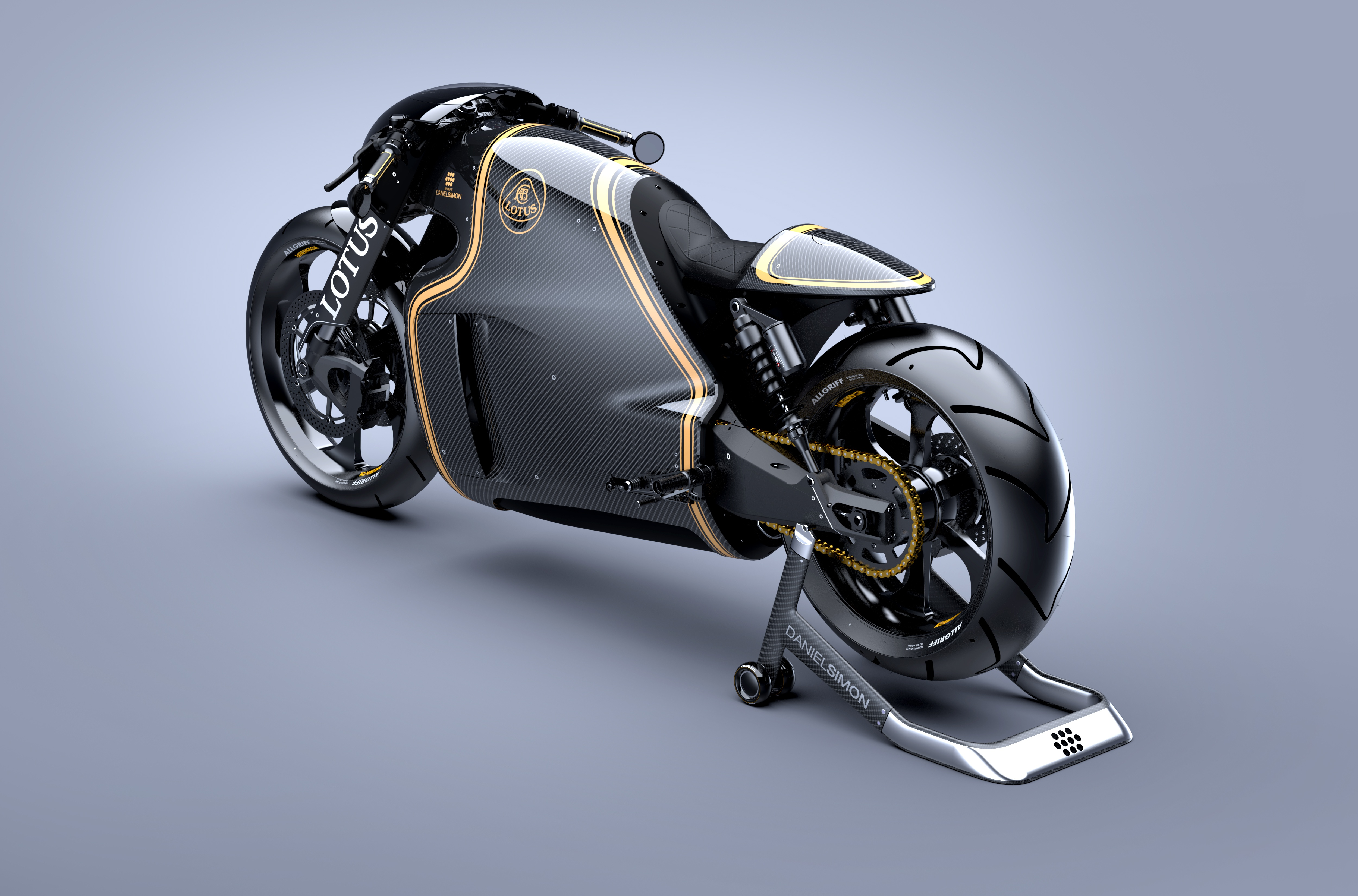 """The Lotus C-01: Classic """"Cafe Racer"""" Design meets Futuristic Styling"""