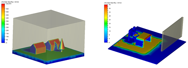 autodesk CFD thermal solar radiation heat flux analysis fastway training